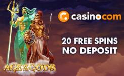 casino.com 20 free spins